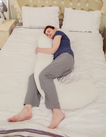 HR-7050 Body Pillow for Sleeping Comfort