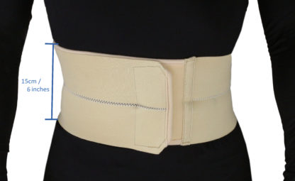 MB-2200L 2-Panel Abdominal Binder – (L: 39 – 43 inches)