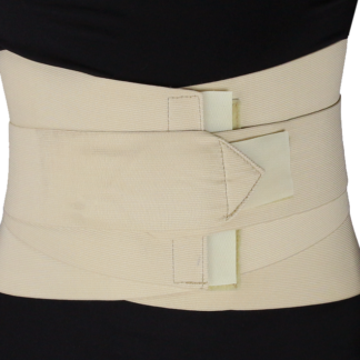 MB-2530XL Abdominal Support Wrap with Metal Stays – (XL: 41 - 45 inches)