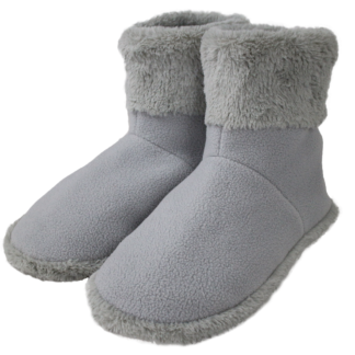 MF-2250L USB 5V Warming Booties with Carbon Fiber Heating Elements (L: #45 fits foot 41 to 45)