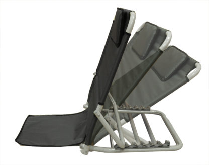 SM-5200G Adjustable Backrest with Headrest, Gray