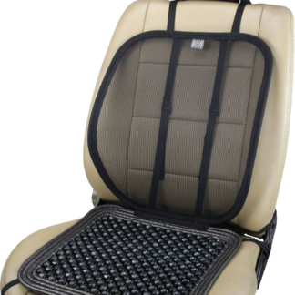 SM-7500 Adjustable Mesh Lumbar with Wooden Beaded Massage Seat