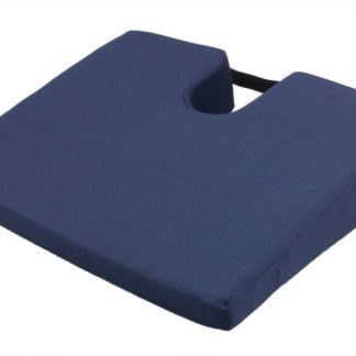 SU-2370 Wedge Cushion with Coccyx Cut-Out, Poly/Cotton Cover