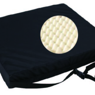 "SU-2628 Eggcrate Foam Wheelchair Cushion – 16"" x 18"" x 3"""