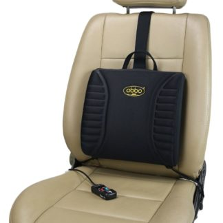 SU-3400 12V Pro-Lumbar Heated Massage Back Cushion